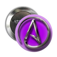 "Atheist Logo (purple) 2.25"" Button"