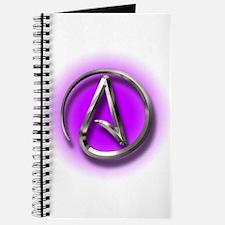 Atheist Logo (purple) Journal