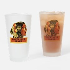 Pocatello Idaho Drinking Glass