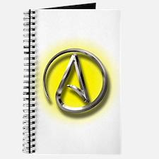 Atheist Logo (yellow) Journal