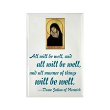 All Will Be Well Rectangle Magnet