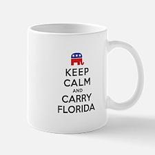 Keep Calm and Carry Florida Rep Mug