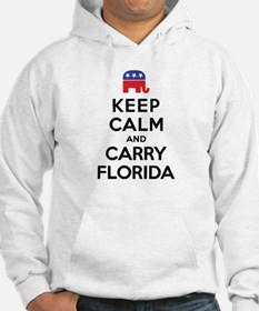 Keep Calm and Carry Florida Rep Hoodie