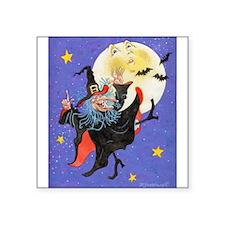 "Mad Millie Moon Dance Square Sticker 3"" x 3"""