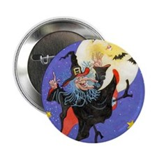 "Mad Millie Moon Dance 2.25"" Button"