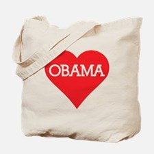I Heart Barack Obama Tote Bag