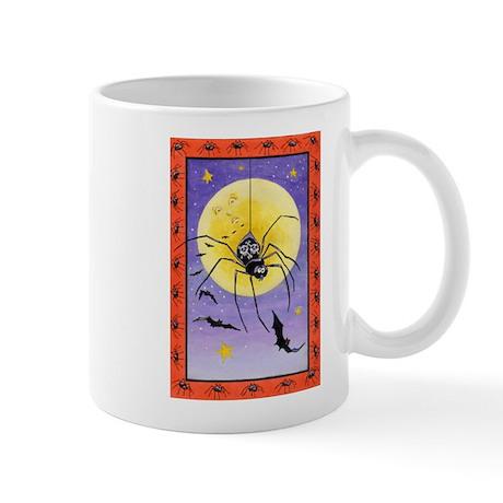 Spooky-Night Spider Mug
