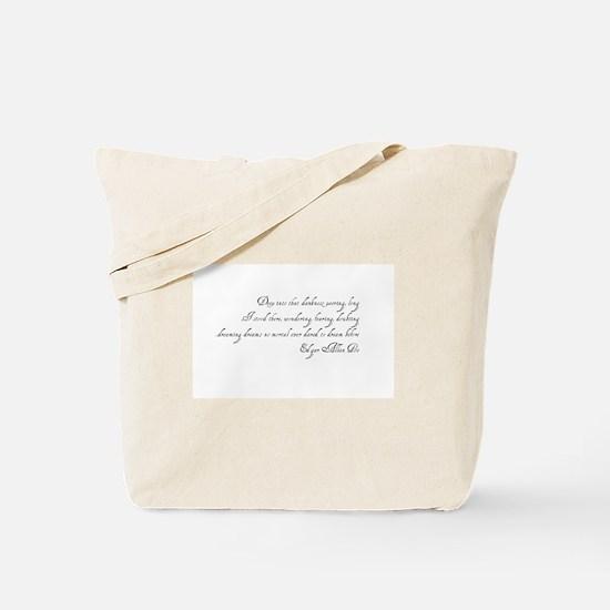 Deep in Darkness Tote Bag