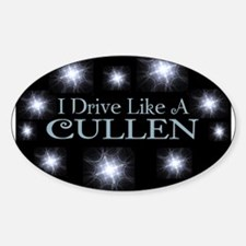 I drive like a Cullen Bumper Stickers