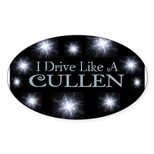 I drive like a Cullen Decal
