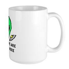 """We Are Here"" Mug"