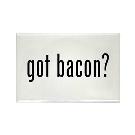 Got Bacon Rectangle Magnet (100 pack)