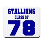 NMHS Class Of 1978 Mousepad