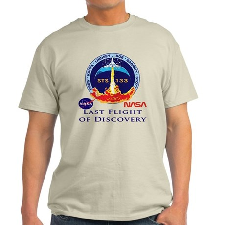 Last Flight of Discovery Light T-Shirt
