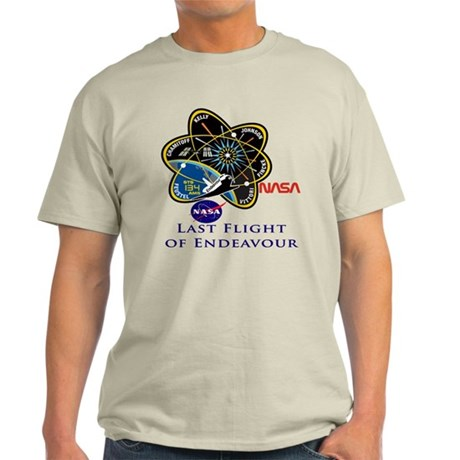 Last Flight of Endeavour Light T-Shirt