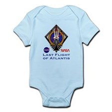 Last Flight of Atlantis Infant Bodysuit