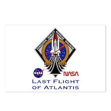 Last Flight of Atlantis Postcards (Package of 8)