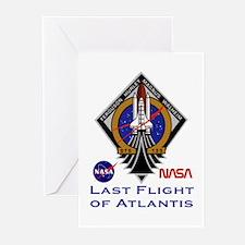 Last Flight of Atlantis Greeting Cards (Pk of 10)