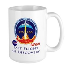 Last Flight of Discovery Mug