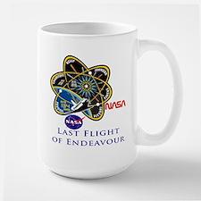 Last Flight of Endeavour Mug