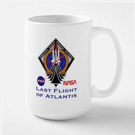 Last Flight of Atlantis Large Mug