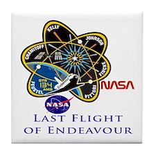 Last Flight of Endeavour Tile Coaster