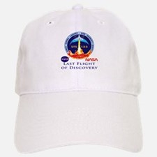 Last Flight of Discovery Baseball Baseball Cap