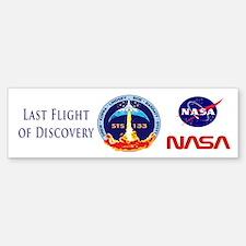 Last Flight of Discovery Bumper Bumper Sticker