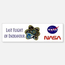 Last Flight of Endeavour Bumper Bumper Sticker