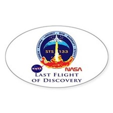Last Flight of Discovery Decal