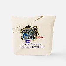Last Flight of Endeavour Tote Bag