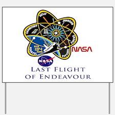 Last Flight of Endeavour Yard Sign