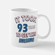 Awesome 93 year old birthday design Mug