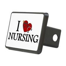 I Love Nursing Hitch Cover