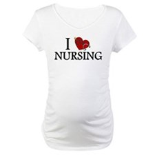 I Love Nursing Shirt