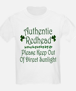 Authentic Redhead... T-Shirt