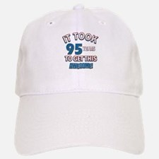 Awesome 95 year old birthday design Baseball Baseball Cap