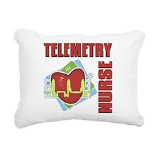 Telemetry Nurse Rectangular Canvas Pillow