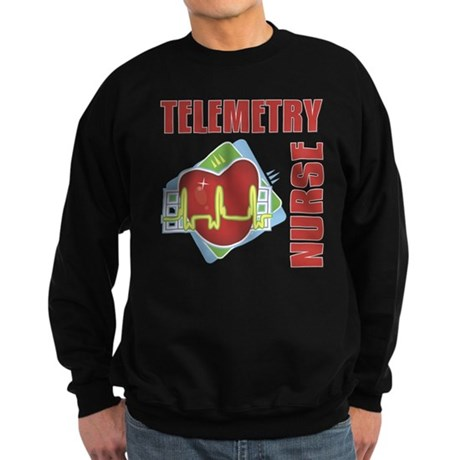 Telemetry Nurse Sweatshirt (dark)