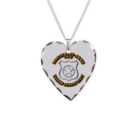 Navy - Rate - MA Necklace Heart Charm