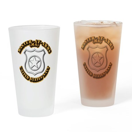 Navy - Rate - MA Drinking Glass