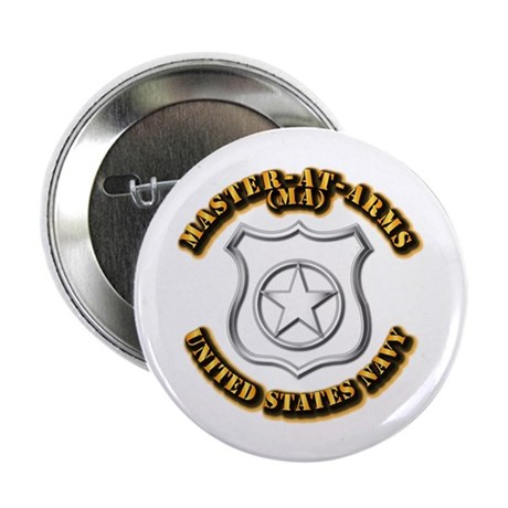 """Navy - Rate - MA 2.25"""" Button (100 pack)"""