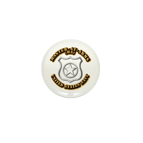 Navy - Rate - MA Mini Button (100 pack)