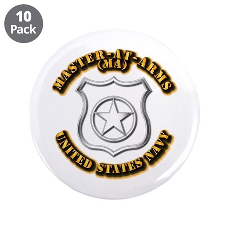 """Navy - Rate - MA 3.5"""" Button (10 pack)"""