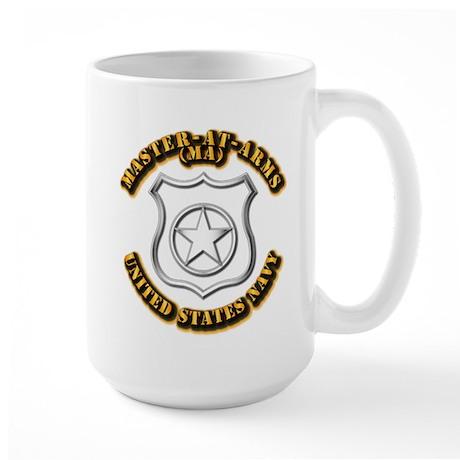 Navy - Rate - MA Large Mug