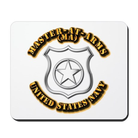 Navy - Rate - MA Mousepad