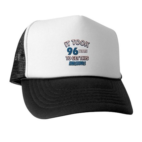 Awesome 96 year old birthday design Trucker Hat