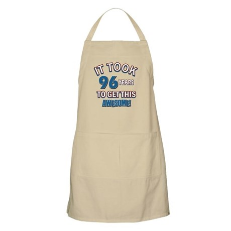 Awesome 96 year old birthday design Apron