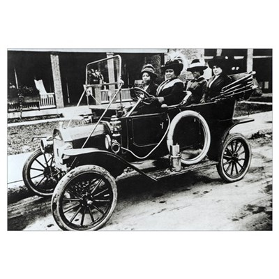 Madam C. J. Walker, US businesswoman Poster
