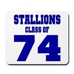NMHS Class Of 1974 Mousepad